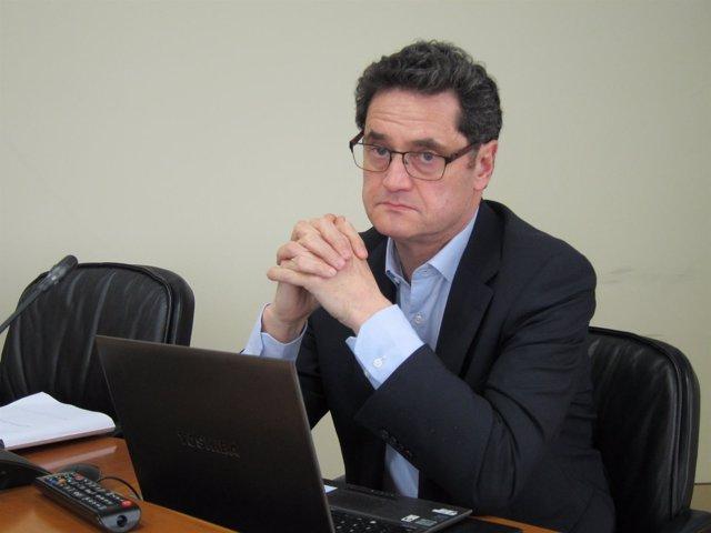 El director xeral de Ordenación Forestal, Tomás Fernández.