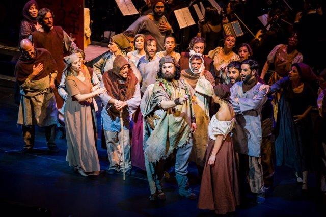 Representación de 'El Médico, el musical'
