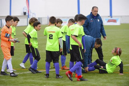 Fisioterapeutas y la Copa COVAP advierten del aumento de las lesiones deportivas infantiles