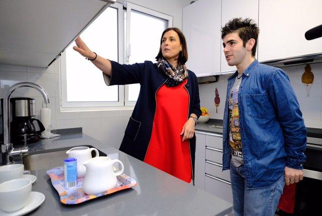 Visita vivienda Fundación Obra San Martín