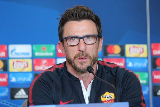 Eusebio Di Francesco (entrenador AS Roma)