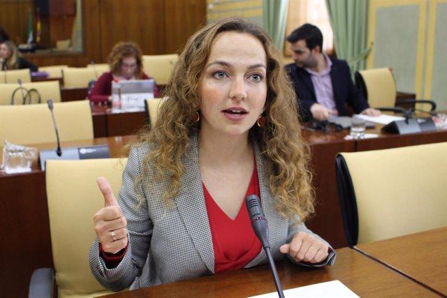La parlamentaria de Ciudadanos (Cs) por Sevilla, Marta Escrivá