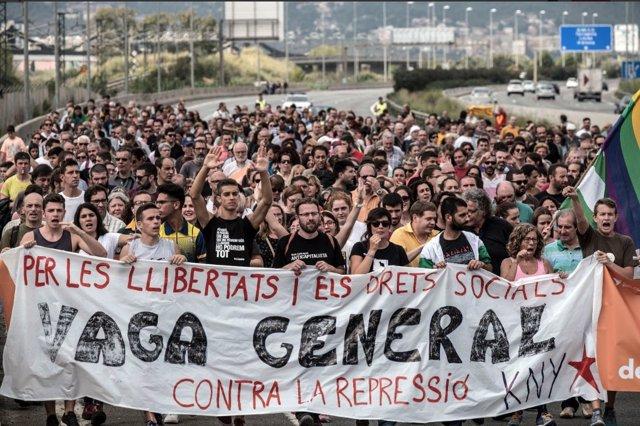 Los Mossos notifican a Aragonés (CUP) el inicio de un procedimiento sancionador