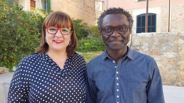 Los coportavoces de MÉS per Mallorca, Busquets y Balboa
