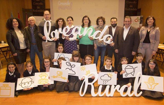 Presentación del proyecto Creando Rural. 2018.