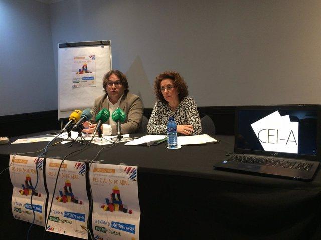 Rueda de prensa de la Coordinadora de Escuelas Infantiles de Andalucía