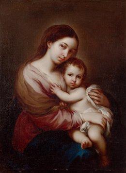 Cuadro 'Virgen con el Niño'