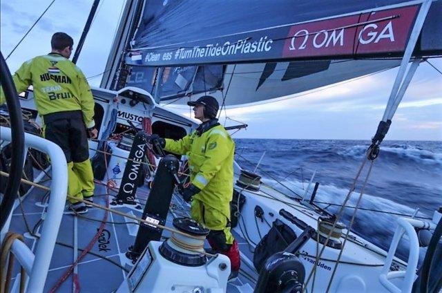 El Team Brunel en la Volvo Ocean Race