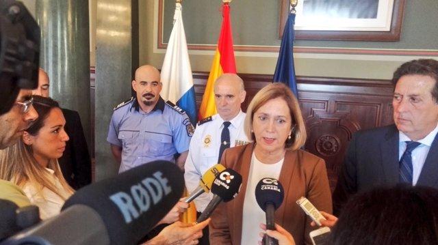 Delegada del Gobierno en Canarias, Mercedes Roldós