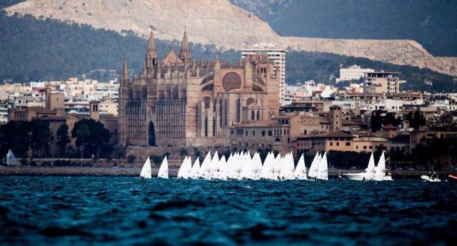 La flota del Trofeo Princesa Sofía Iberostar