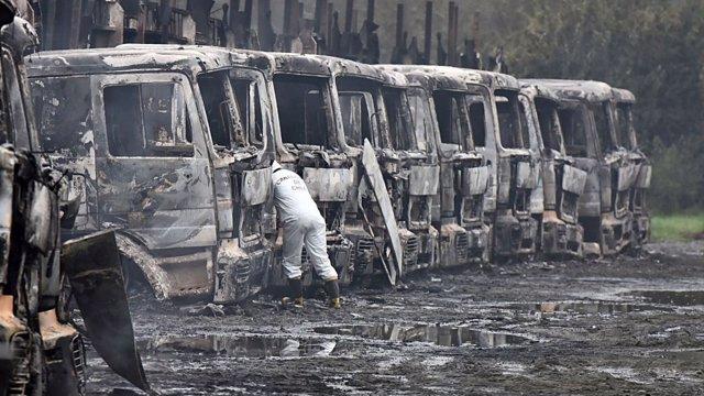 Camiones quemados en Chile, 'Operación Huracán'