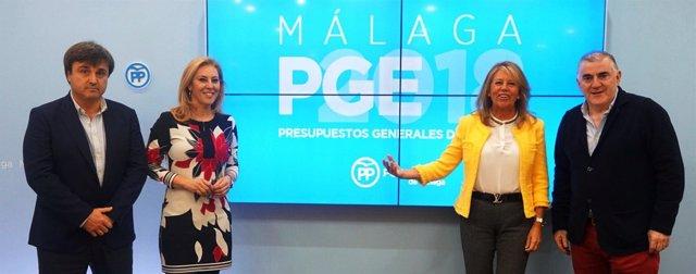 Carolina España valora los PGE para Málaga