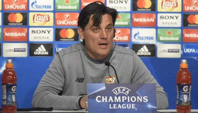Vincenzo Montella (Sevilla), en previa de Champions