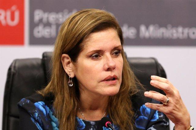 Mercedes Aráoz, primera ministra de Perú