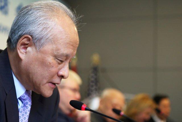 Cui Tiankai, embajador de China en Estados Unidos