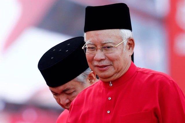 Foto de archivo del primer ministro malasio, Najib Razak.