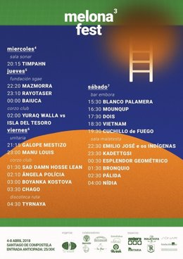 Melona Fest, tercera edición