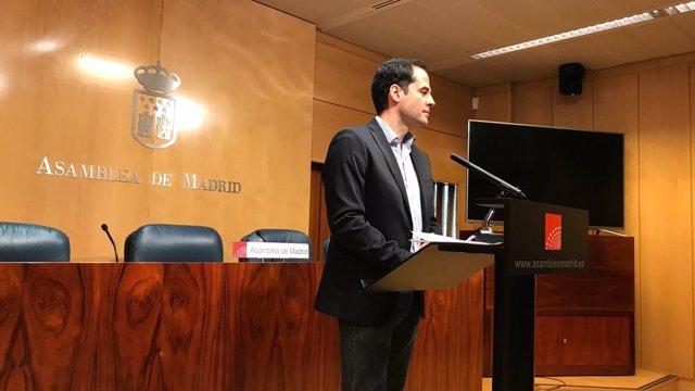 Ignacio Aguado, portavoz de Ciudadanos en la Asamblea de Madrid