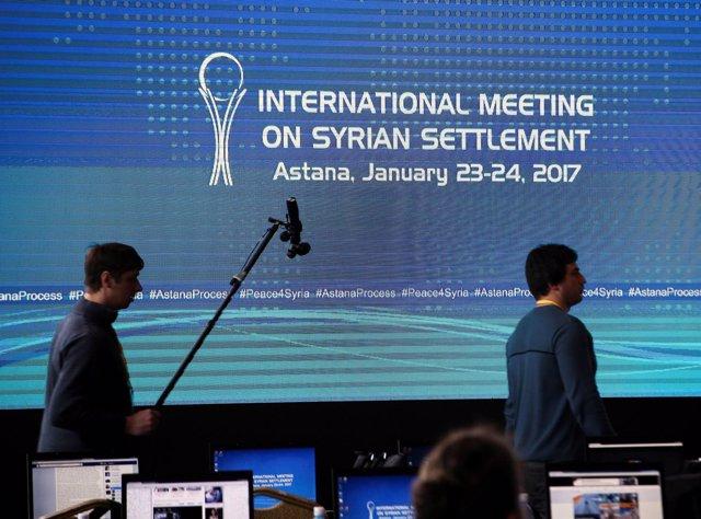 Reunión sobre Siria en Astaná