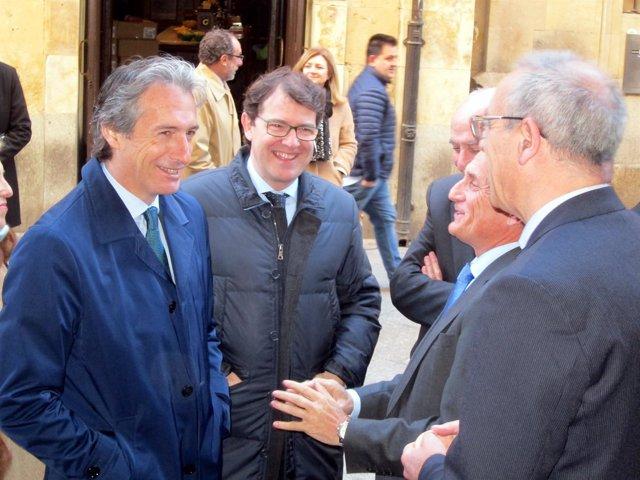 4-4-2018. Salamanca, Ministro De Fomento