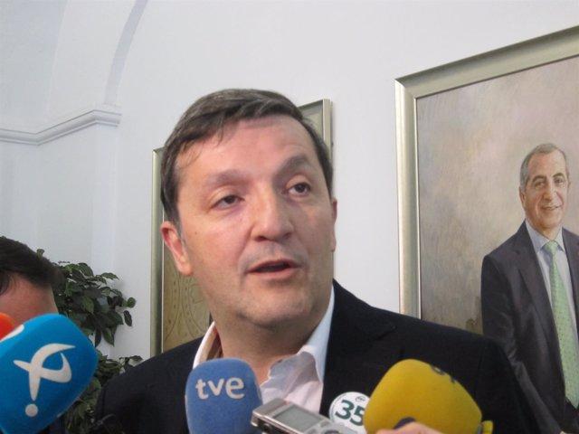 El presidente de CSIF Extremadura, Benito Román