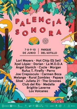 Palencia Sonora 2018 Nuevas Confirmaciones