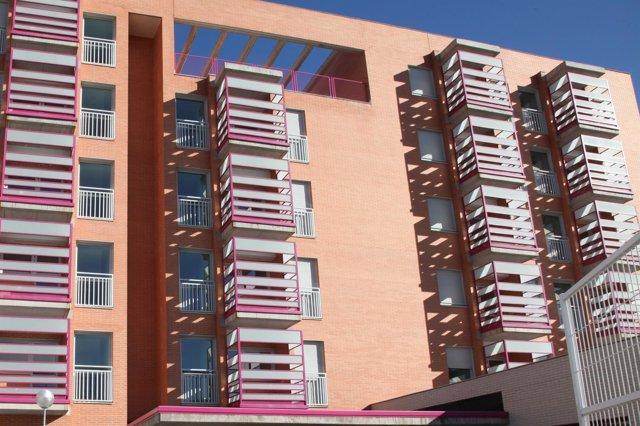 Imagen de archivo de pisos en Getafe.