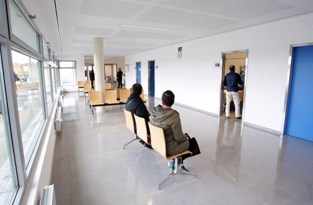 Sala de espera del Sergas