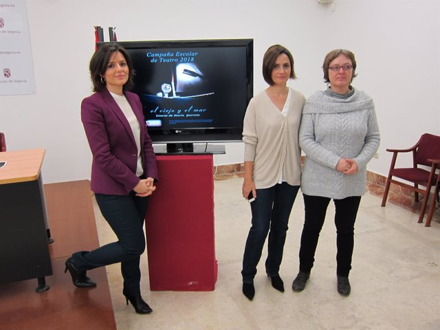 Presentación de la Campaña Escolar de Teatro.