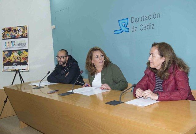 Presentación del proyecto Asadaka  en la Diputación de Cádiz