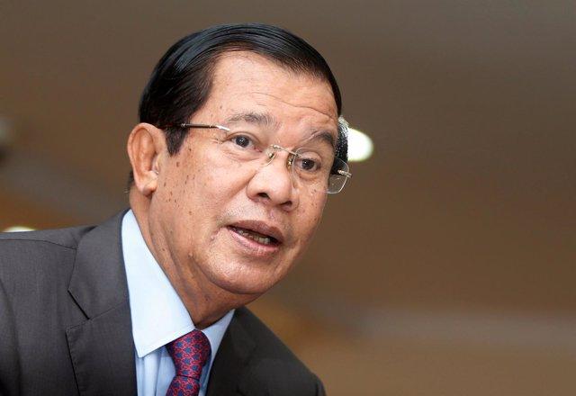 El primer ministro de Camboya, Hun Sen