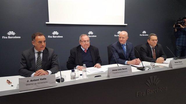 J.Antonio Valls, Josep Lluís Bonet, Rafael Olmos y Gonzalo Sanz