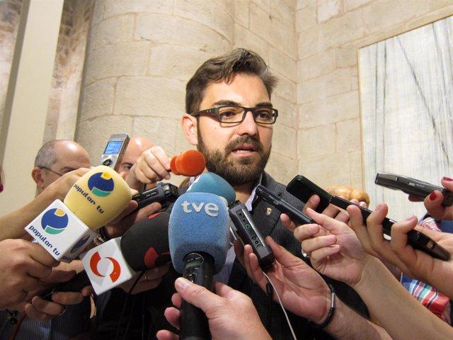 Diego Ubis, portavoz del Grupo Parlamentario de Ciudadanos de La Rioja