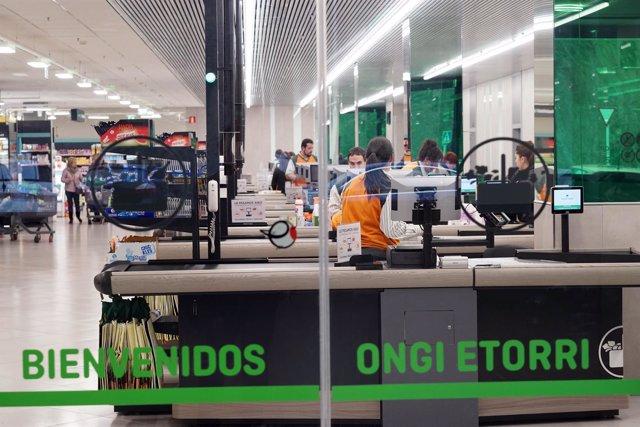 Supermercado de Mercadona en Euskadi