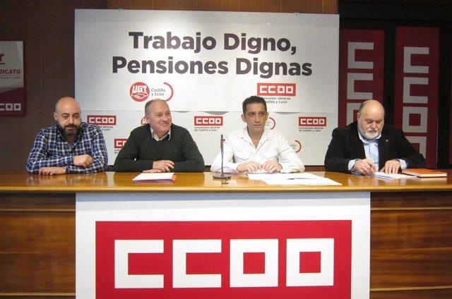 Presentación de las movilizaciones por las pensiones 04-04-2018