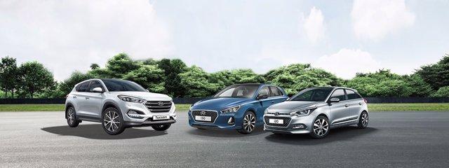 Vehículos de la marca Hyundai