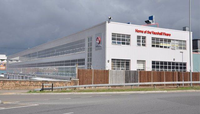 Planta de Opel/Vauxhall en Luton (Reino Unido)