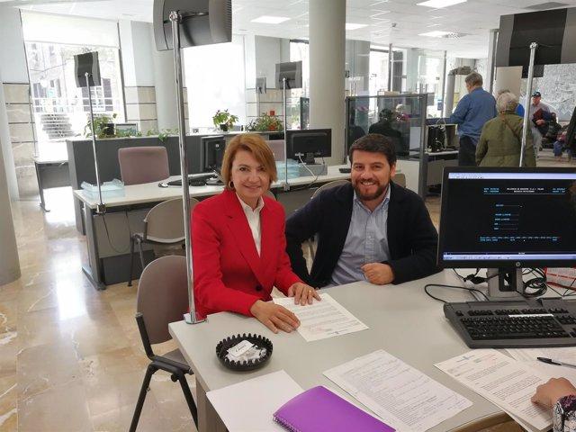 Margalida Durán y Javier Bonet (PP Palma)
