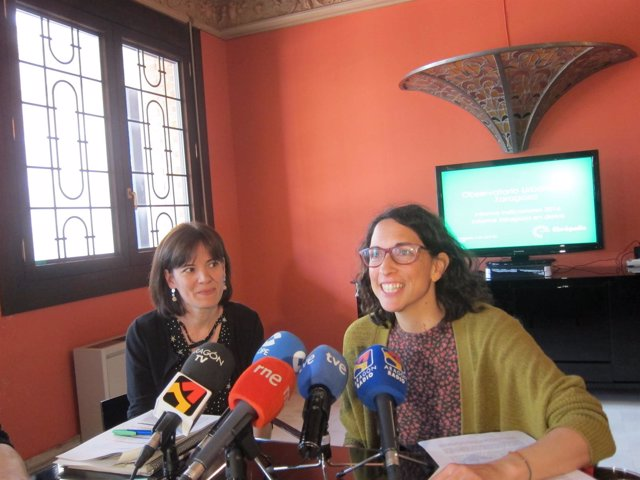 Elena Giner y Laura Fuertes presentan informe de Ebrópolis de 2016