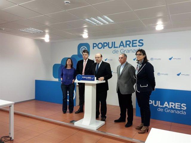 El PP de Granada valora el proyecto de PGE para Granada