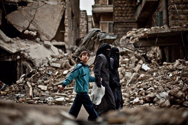 Cobertura de la guerra de Siria. Pablo Tosco para Oxfam