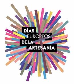 Cartel de los Días Europeos de la Artesanía