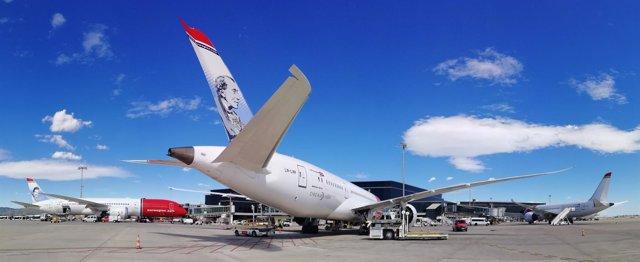 Norwegian pone en marcha su tercer Dreamliner con base en Barcelona
