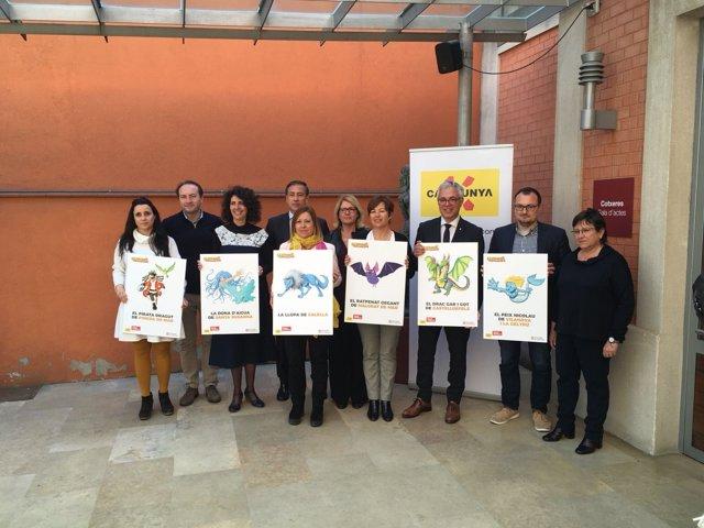 Presentación del 'Catalunya, hola familia'