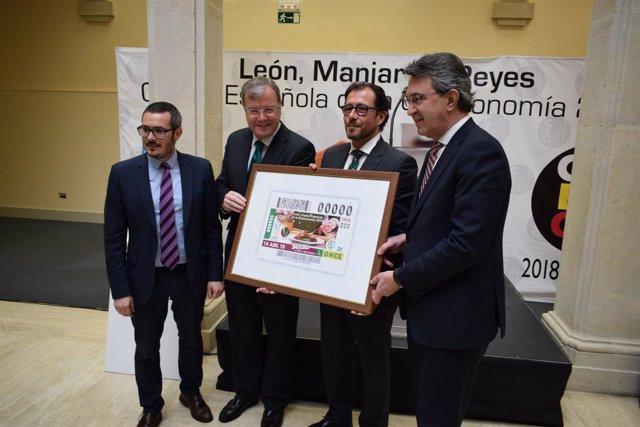 El Cupón De La Once Del 14 De Abril Llevará El Sello De León Como Ciudad Español