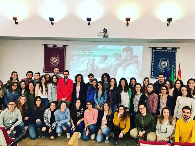 Voluntarios UMA universidad estudiantes málaga cooperación internacional volunta