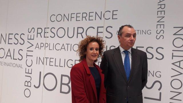 Rosana Perán y Salvador Navarro, este miércoles