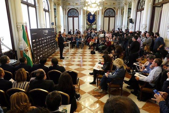 Presentación del Festival de Málaga