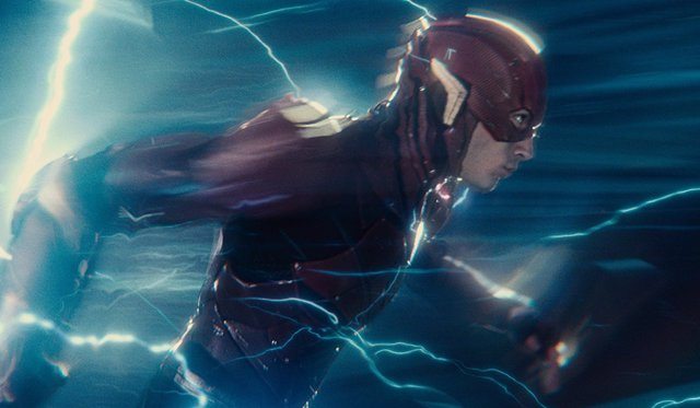 The Flash en Liga de la Justicia