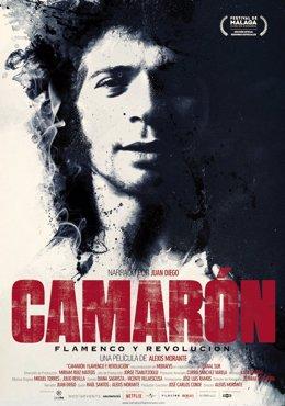Cartel película Camarón flamenco y revolución de Morante se estrena en Festival